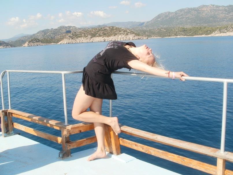 Мои путешествия. Елена Руденко. Турция. Средиземное море. Экскурсия на яхте.  2011 г.  Y_b47a6989