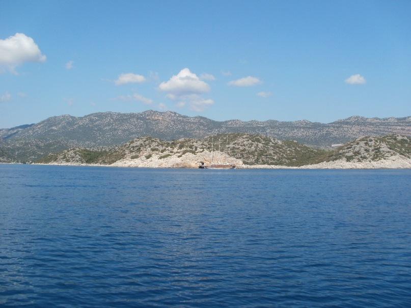 Мои путешествия. Елена Руденко. Турция. Средиземное море. Экскурсия на яхте.  2011 г.  Y_c49bd2a4