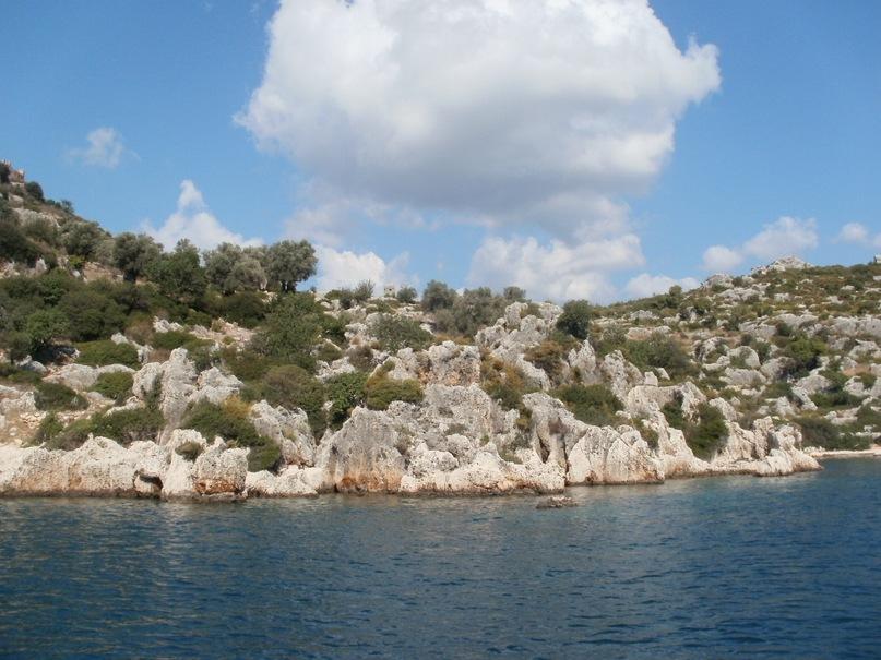 Мои путешествия. Елена Руденко. Турция. Средиземное море. Экскурсия на яхте.  2011 г.  Y_d35b5430