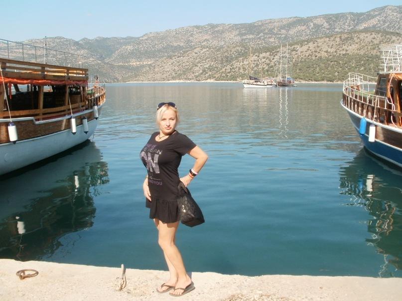 Мои путешествия. Елена Руденко. Турция. Средиземное море. Экскурсия на яхте.  2011 г.  Y_dbc0cdc3