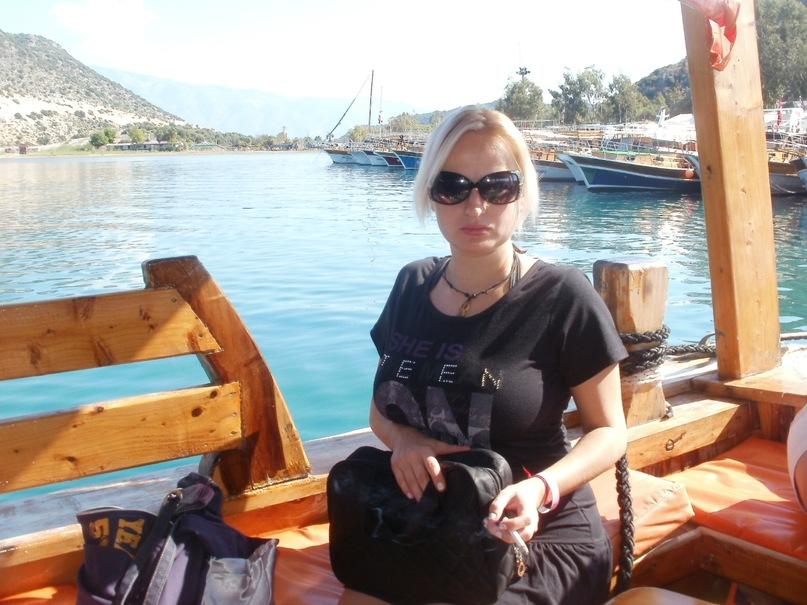 Мои путешествия. Елена Руденко. Турция. Средиземное море. Экскурсия на яхте.  2011 г.  Y_f2ea4c93