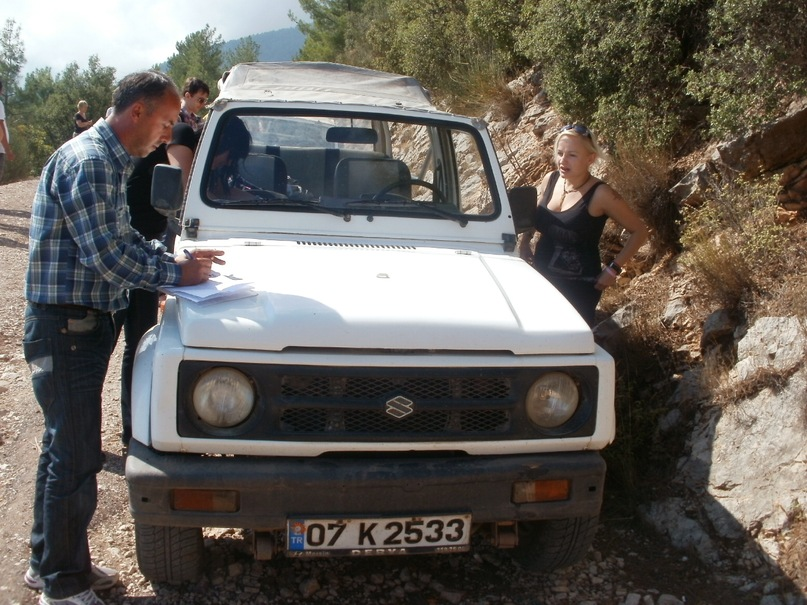 Мои путешествия. Елена Руденко. Турция. Джип Сафари. 2011 г. Y_b017429d
