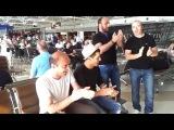 Грузины в аэропорту Борисполь.