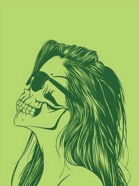 скелет картинки на аву