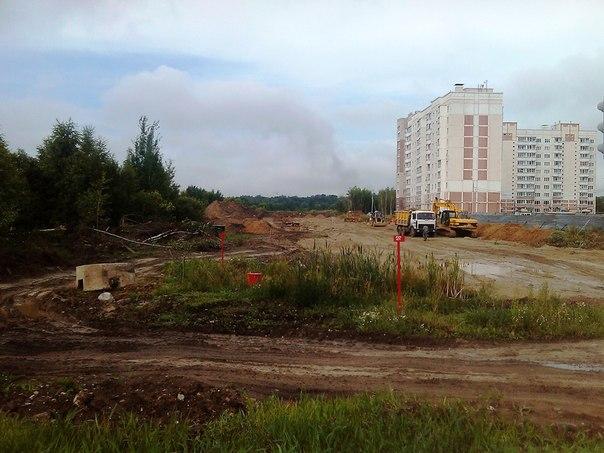 Строительство Чернопрудной