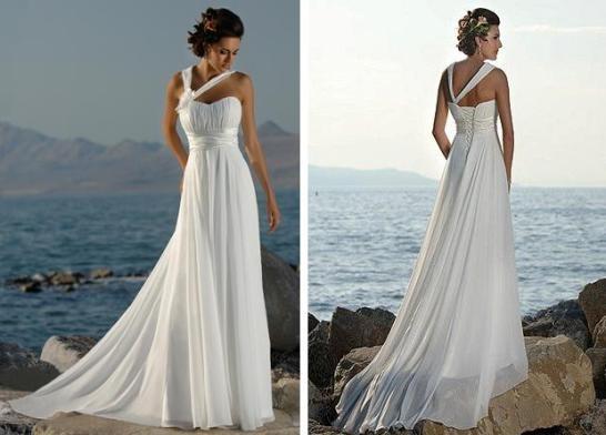 а еще очень красиво смотрятся платья в греческом стиле…их большой.