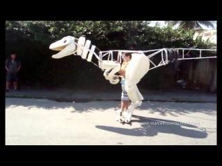 Я сделал велоцераптора | I made a Velociraptor Suit