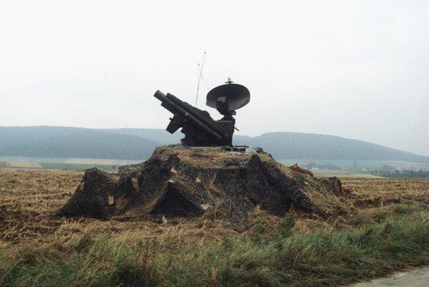 Маскировка военной техники.