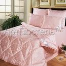 Пуховое одеяло стёганое из козьего пуха 1,5, 2-х спальное, евро.