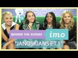 Behind The Scenes of IMO: The Janoskians Visit IMO Pt. 1 w/ Meaghan Dowling