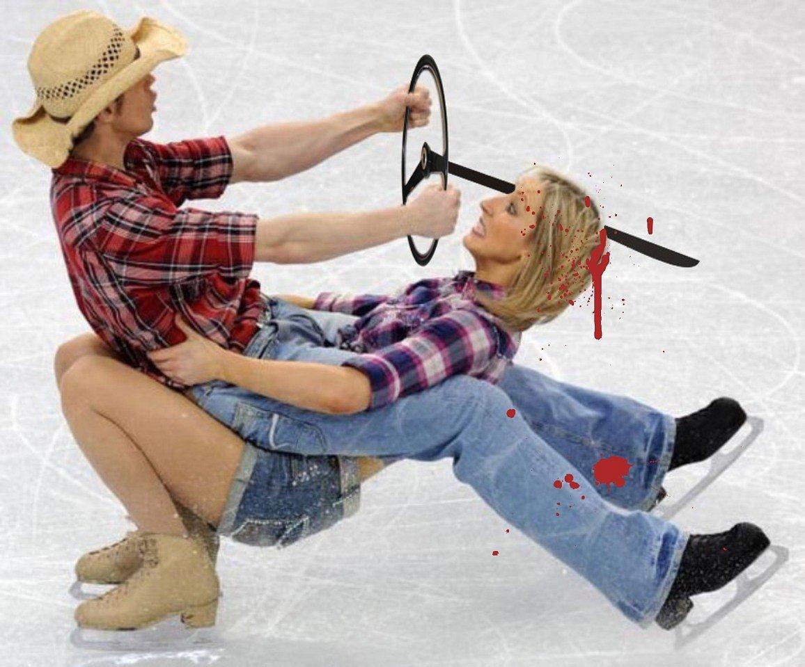 Секс тайны фигуристов,  Ледниковый период разрушает семьи 23 фотография