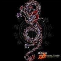Дракон как персонаж японской народной мифологии и фольклора существует в японской традиции как бы в двух плоскостях...
