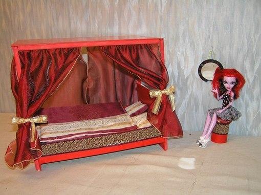 Видео мебель для кукол монстр хай своими руками