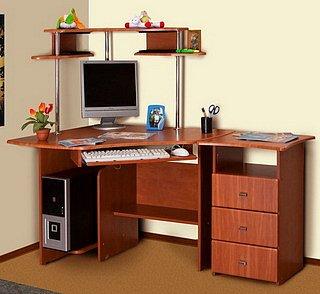 Купить Угловой Компьютерный стол в Киеве от КультМебели по доступной цене