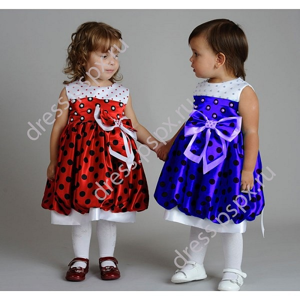 Платье на 3 года выкройка 3