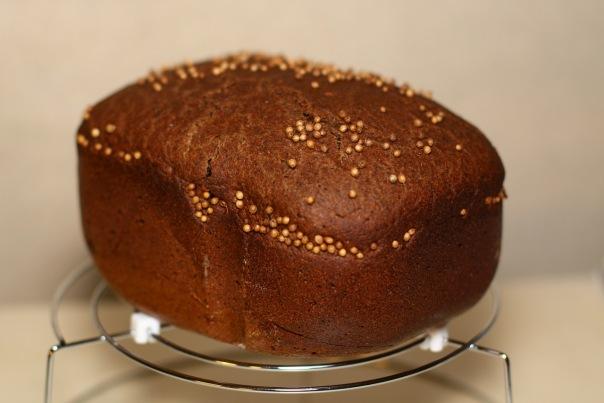 Бородинский хлеб для ленивых (хлебопечка)
