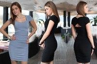 женские платья с рукавом