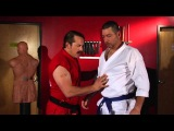 Two Hand Lapel Grab Defense #1