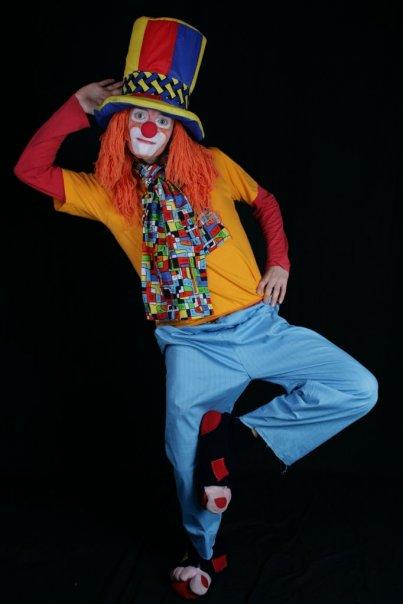 Клоуны на раскраску