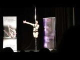 Czech pole dance championship 2013 final of professionals Anastasia Stacey Akentyeva 2nd place