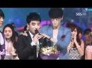 Mutizen Song - Seungri (뮤티즌송-승리) @SBS Inkigayo 인기가요 20110206