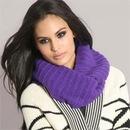 Такой шарф под силу связать и самой. ... объемный шарф-хомут или .