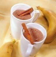 Для приготовления шоколадно-бананового напитка понадобится.