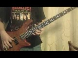 Metallica (Anesthesia) Pulling teeth - bass cover(without drums) by ilya Sverdlov