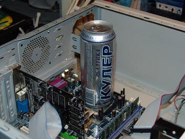 Охлаждение для процессора своими рука