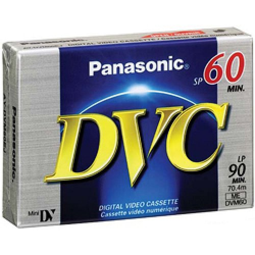Видеокассета miniDV Panasonic DVC 60