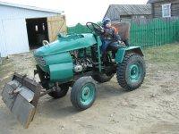 самодельные трактора - YouTube