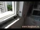Пластиковые окна. Монтаж окна и установка откосов.