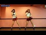 Красивые девушки танцуют под песню-Roly poly