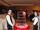 Коктейль пати - выездной бар Бармен шоу Пирамида из шампанского...
