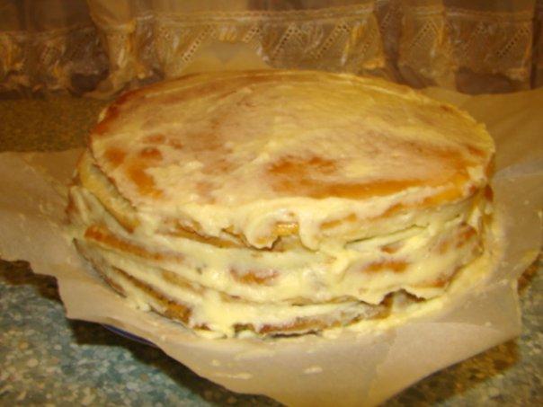 Торт с маком изюмом