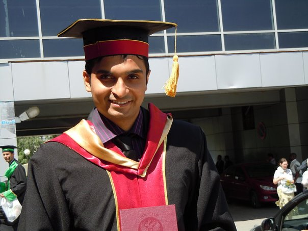 Varun Patel: Am a graduate now..