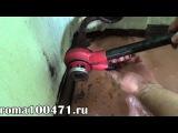 Как нарезать резьбу, мотаж и установка шарового крана