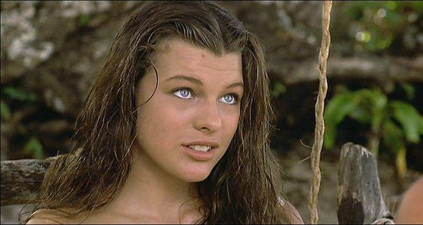 """Группа любителей фильма """"Голубая Лагуна"""", а также актрис ... мила йовович биография"""