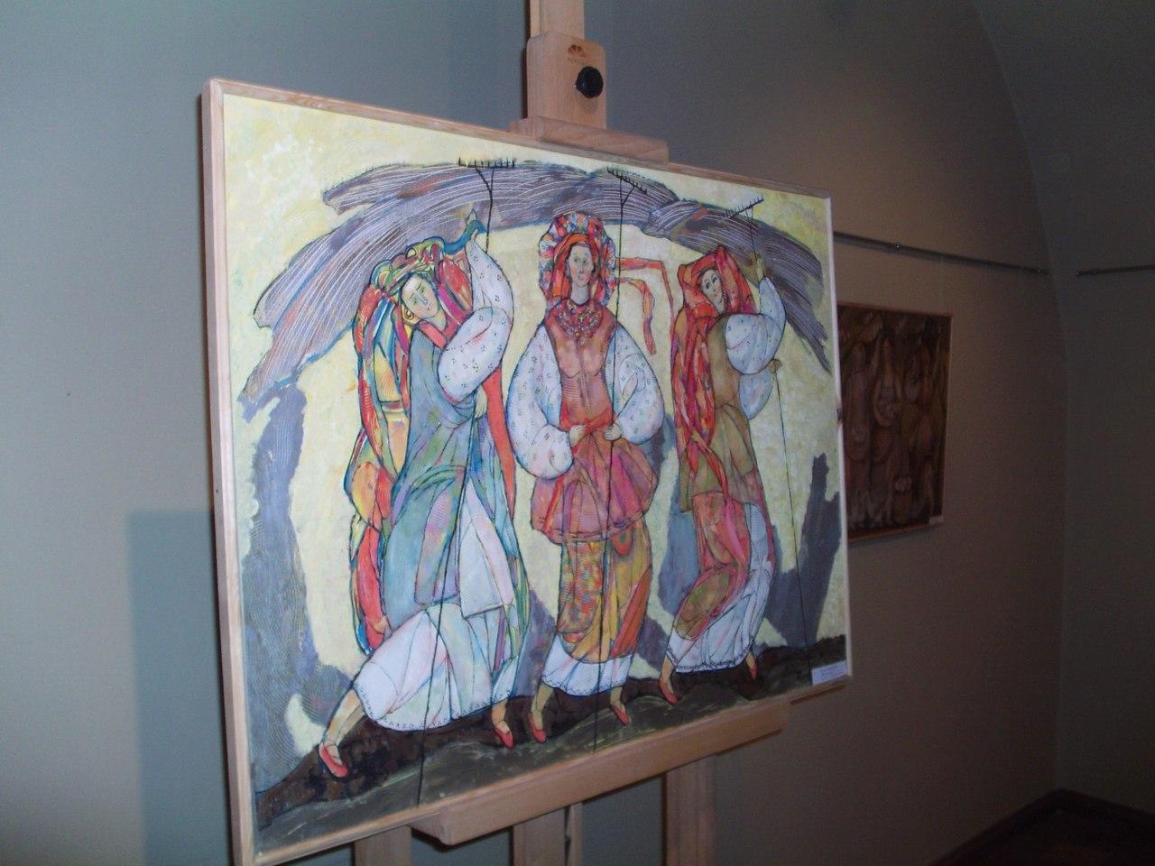 Виставка картин на замку Паланок