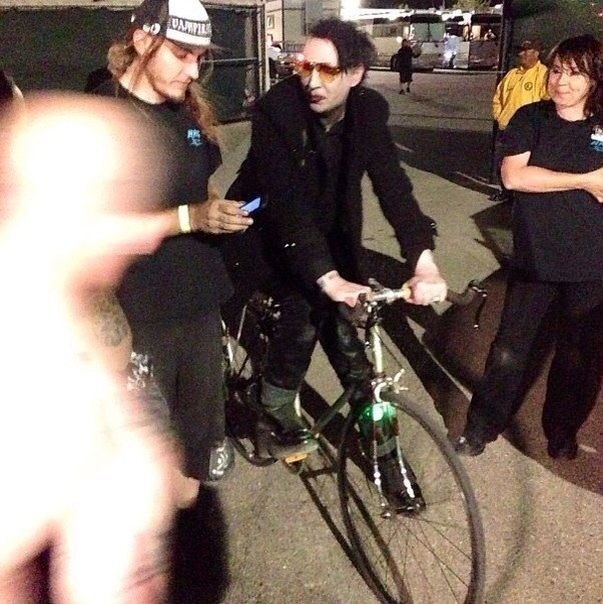 Marilyn manson nackt picture 21