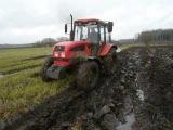 Extreme ploughing Belarus Mtz 952.3