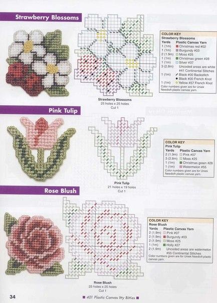 Схемы для вышивки на пластиковой канве 3