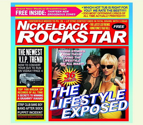 004 Nickelback – Rockstar written by: Chad Kroeger / Nickelback