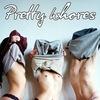 Pretty whores.