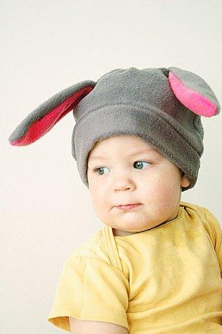 Шапка зайца для мальчика своими руками