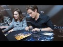 Meeting Lily Collins, Jamie Campbell Bower, Kevin Zegers! (Chicago TMI Mall Tour)