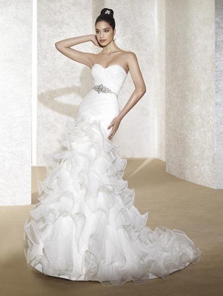 Свадебное платье 5128 от Fara Sposa.
