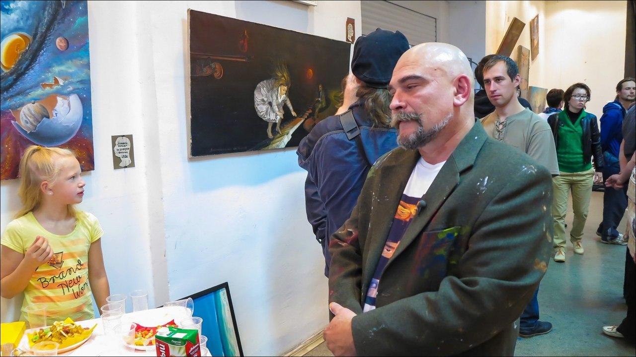 "Фото отчет с выставки ""Остановка дыхания"""