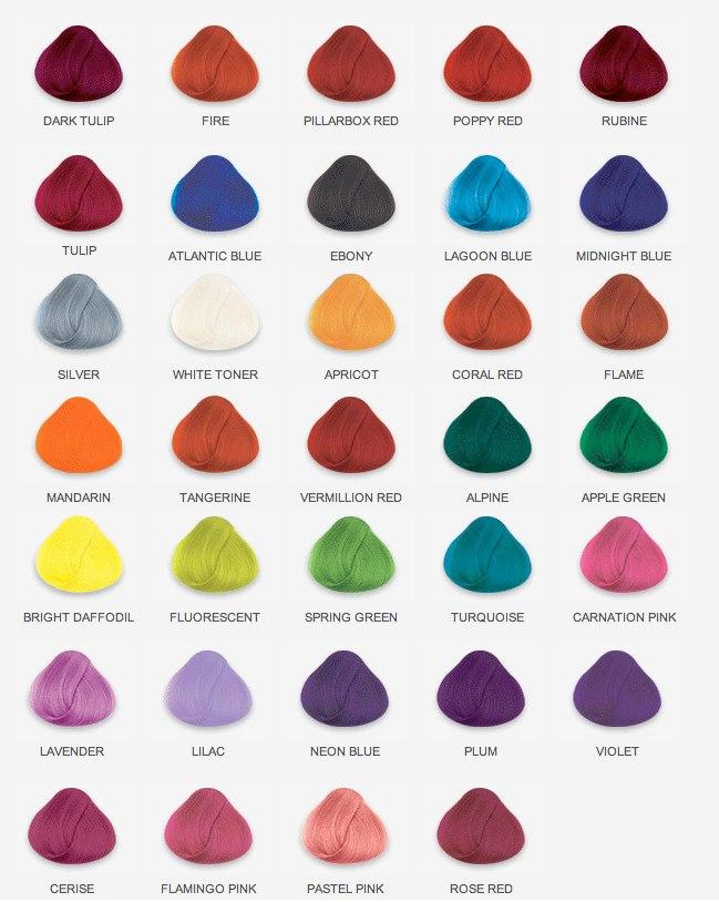 Купить в москве краску для волос крейзи колор