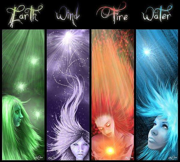 Картинки 4 стихии вода воздух земля огонь воздух 2